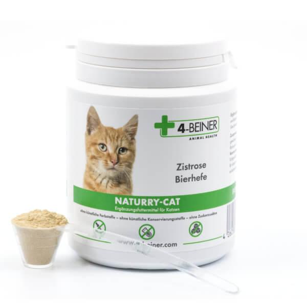 Dose 4-BEINER NATURRY-CAT für Katzen mit Zistrose (cistus incanus) und Bierhefe